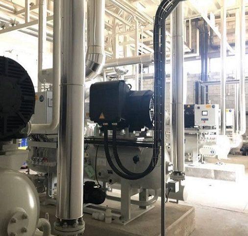 sala de máquinas frío